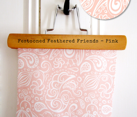 Festooned Feathered Friends Pink