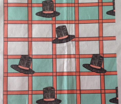 Top_Hats in Mint & Coral