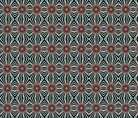 In the Eye of the Owl Black fabric by inniv8z_oz on Spoonflower - custom fabric
