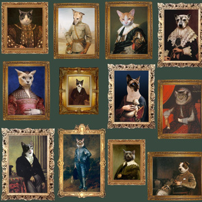 Pet Portrait Gallery - Large - Sage