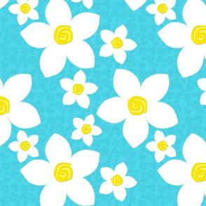 Happy Flowers Applique