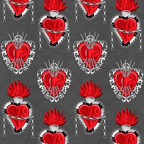 Exvoto Hearts