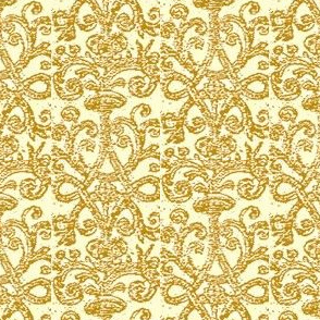 Pumpkin Brocade