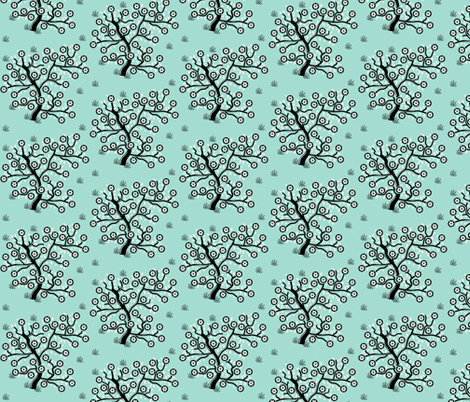 Blossom tree fabric by squeakyangel on Spoonflower - custom fabric