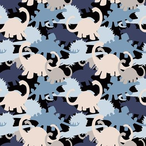 Small Dinosaurs Camo Design
