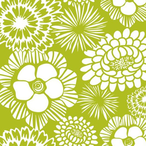 Festibloom - Modern Floral Green