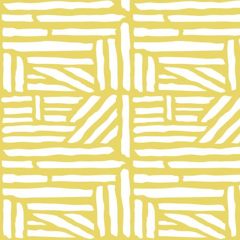 driftwood geometric citron yellow fabric heatherdutton