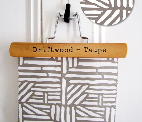 Driftwood - Geometric Taupe Brown