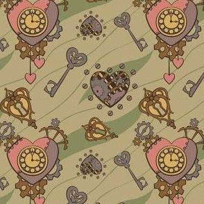 Clockwork Heart - Tan