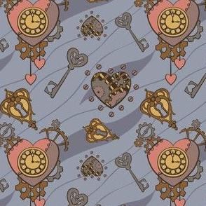 Clockwork Heart - Blue