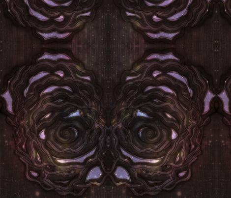 Acorn nebula fabric aphleseus spoonflower for Nebula material