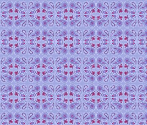 Paisley splash in purple fabric by gretchendiehl on Spoonflower - custom fabric