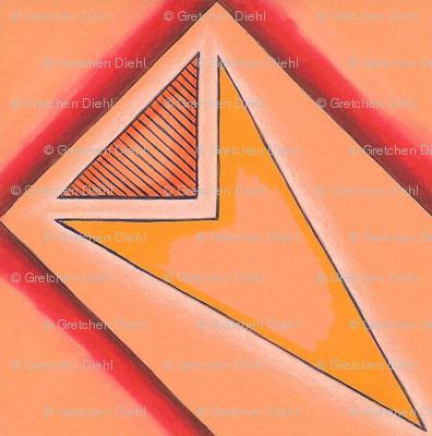 Hot point tribal tile