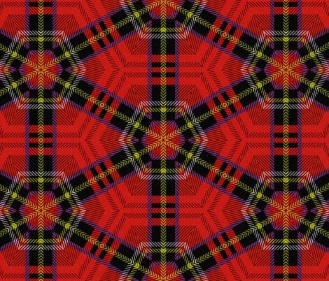 Off Kilter ~ Royal Stewart Tartan ~ Patrick fabric