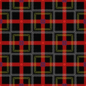 Off Kilter ~ Royal Stewart Tartan ~  Rod