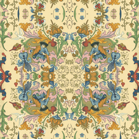 Forsooth! ~ Cad fabric by peacoquettedesigns on Spoonflower - custom fabric