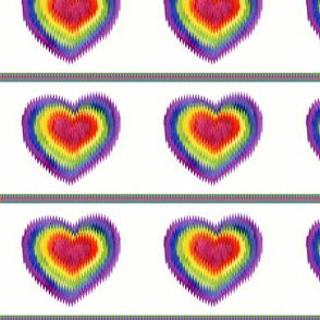chevron heart