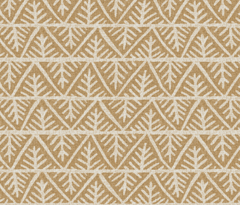 Textured Mudcloth in Sand fabric by willowlanetextiles on Spoonflower - custom fabric