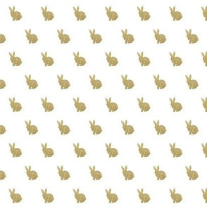 Mini Gold Bunny
