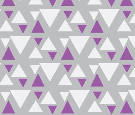 kolmiot_musta_babypink-ch-ch-ch-ch-ch-ch fabric by mayadesign on Spoonflower - custom fabric
