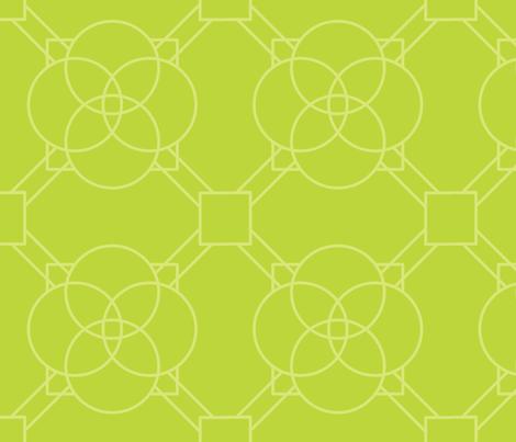 Green Latice fabric by tiffanyillustrator on Spoonflower - custom fabric