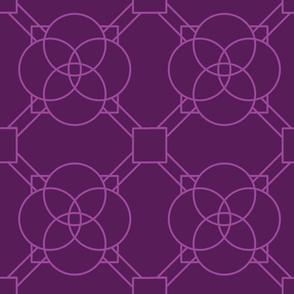 Purple Latice