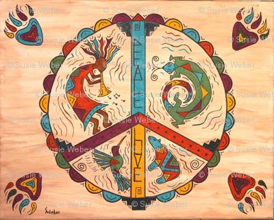 Southwest Peace and Love-ed