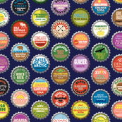 Soda Nation* (Jackie Blue) || bottlecap bottle cap national park America United States nps polka dots typography cola travel summer food drink vacation