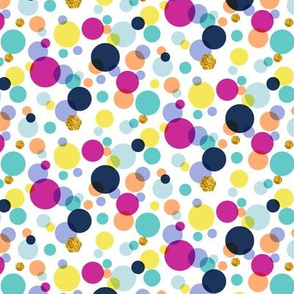 Sparkles (Diamond) || polka dots circles bubbles geometric scatter glitter