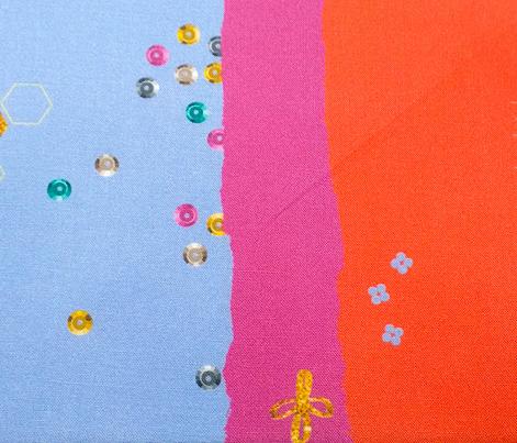 Sparkle Collage (Citrine)