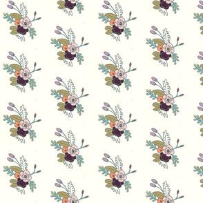 floral- plum