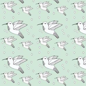 humming bird mint - elvelyckan