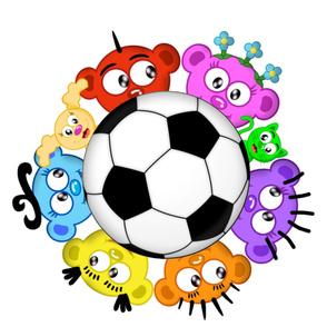 Soccer a la Planet Peek-A-Boo