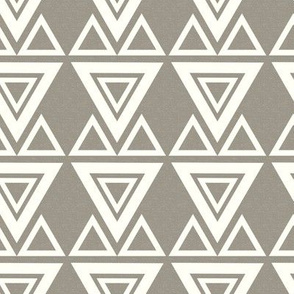 Aztec Triangles Textured