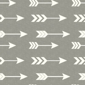 White and Gray Arrows