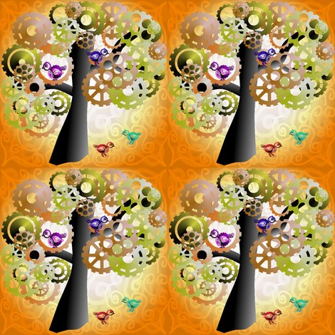 Rbrass_cog_tree_with_birds_in_and_swirl_background_shop_preview