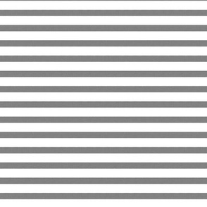 Stripes Vintage Gray and White