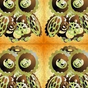 Lighter Larger Brassy Cog Owl