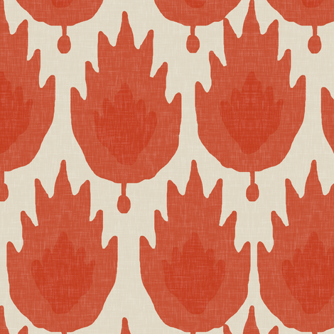 Casbah in Spice fabric by willowlanetextiles on Spoonflower - custom fabric