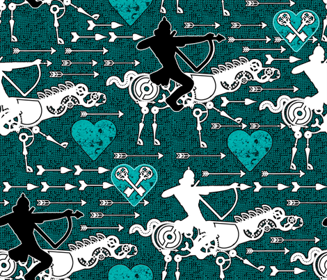 Love Quest fabric by rubydoor on Spoonflower - custom fabric