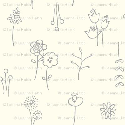 """Flower Show Vanilla (4"""")"""