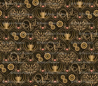 Golden Steampunk Love