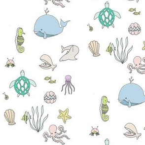 Sea creatures - BlueMoon Design