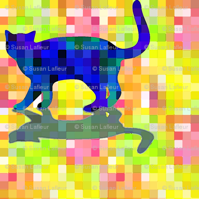cubist_cat_Silhouette and Shadow