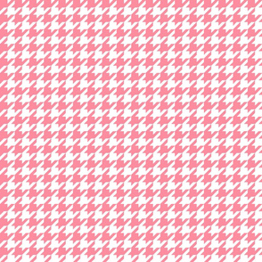 houndstooth pretty pink