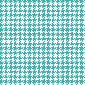 houndstooth teal