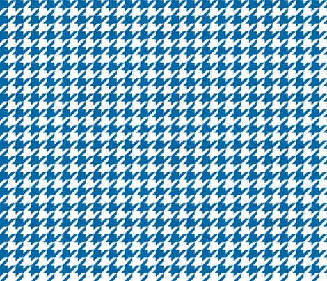 houndstooth royal blue fabric by misstiina on Spoonflower - custom fabric