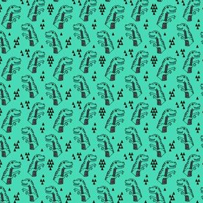 dinosaurs // dino dinosaur kids green prehistoric jurassic baby boys