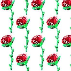 Long stemed Cog Rose