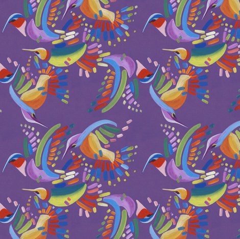 Wings of Flurry fabric by margodepaulis on Spoonflower - custom fabric
